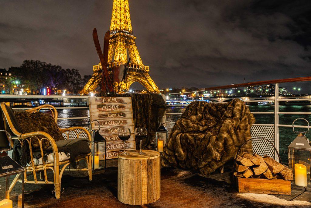 l'hiver sur la Seine